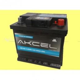 Akumulator AKCEL 45Ah 400A L-